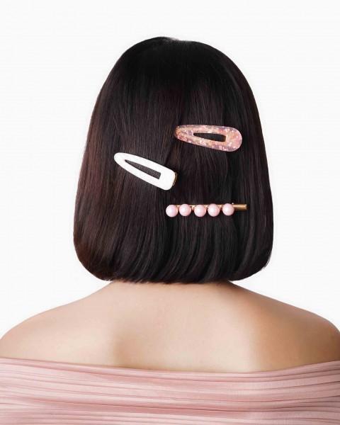 3 Packs Hair Clips Multi Coloured