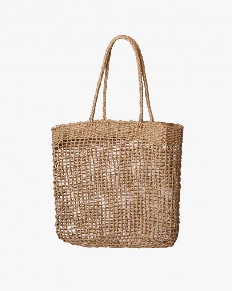Handbag Straw Woven