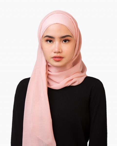 Sya Scarf in Blush