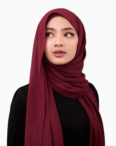 Instant Fay in Maroon
