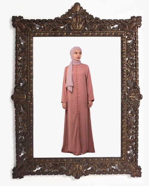 Inaya Dress in Rose