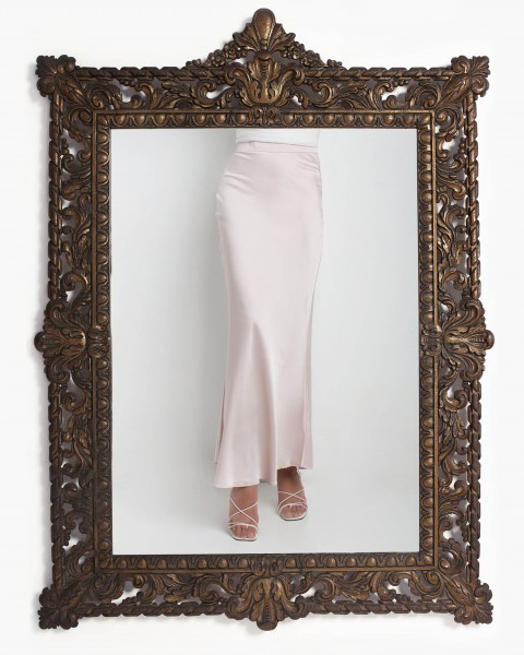 Liv Skirt in Silver Pink