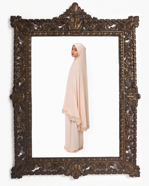 Basic Mukena in Cream