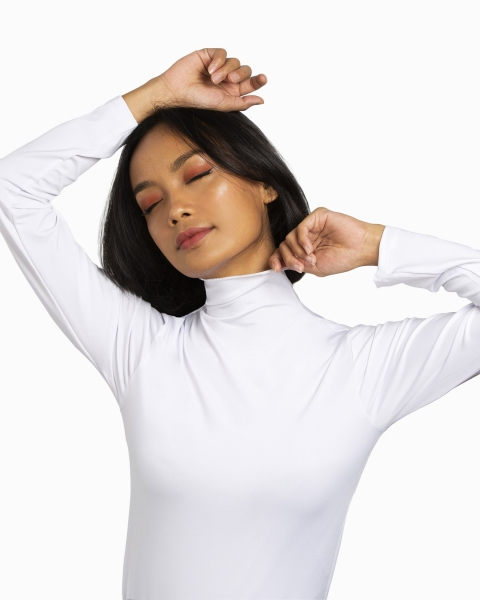 Bie Inner Long Sleeves in White