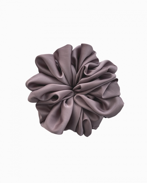 Silk Scrunchie Mini in Light Amethyst