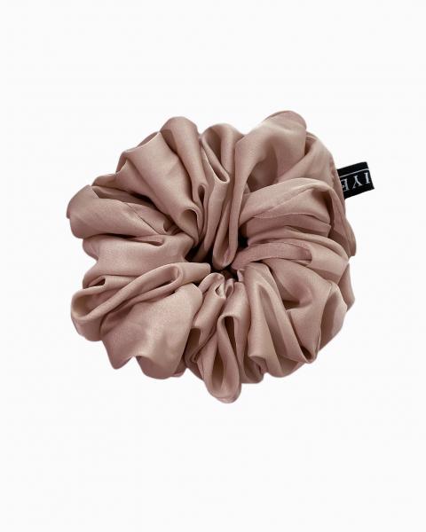 Silk Scrunchie Mini in Topaz