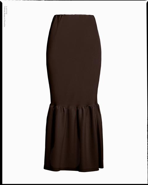 Lea Skirt in Brown