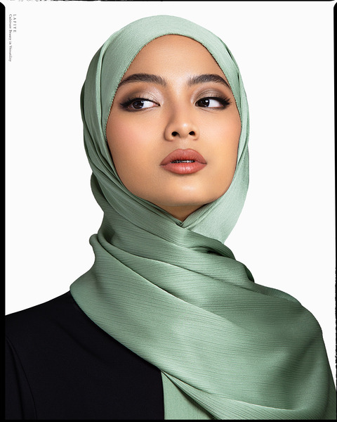 Premium Textured Silk in Emerald